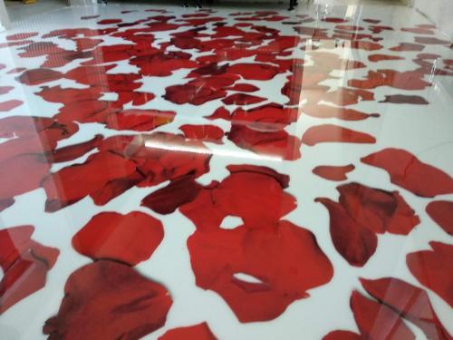 3D podlaha kuchyňa