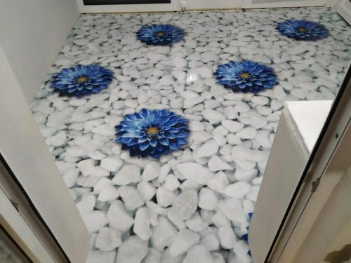 3D podlaha zimná záhrada